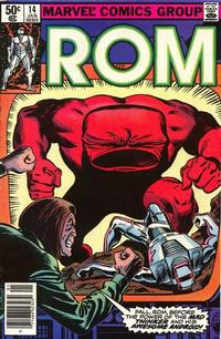 Cover Thumbnail for ROM (Marvel, 1979 series) #14 [Newsstand Edition]
