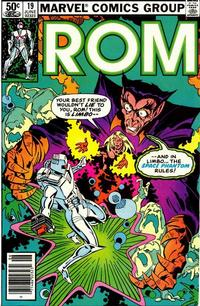 Cover Thumbnail for ROM (Marvel, 1979 series) #19 [Newsstand Edition]