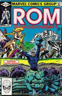 Cover Thumbnail for ROM (Marvel, 1979 series) #28 [Direct Edition]
