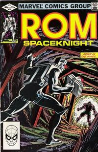 Cover Thumbnail for ROM (Marvel, 1979 series) #29 [Direct Edition]
