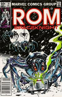 Cover Thumbnail for ROM (Marvel, 1979 series) #30 [Newsstand Edition]