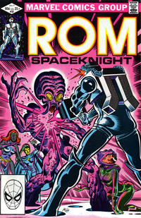 Cover Thumbnail for ROM (Marvel, 1979 series) #32 [Direct Edition]