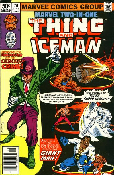 Cover for Marvel Two-in-One (Marvel, 1974 series) #76 [Direct]