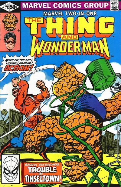 Cover for Marvel Two-in-One (Marvel, 1974 series) #78 [Newsstand]