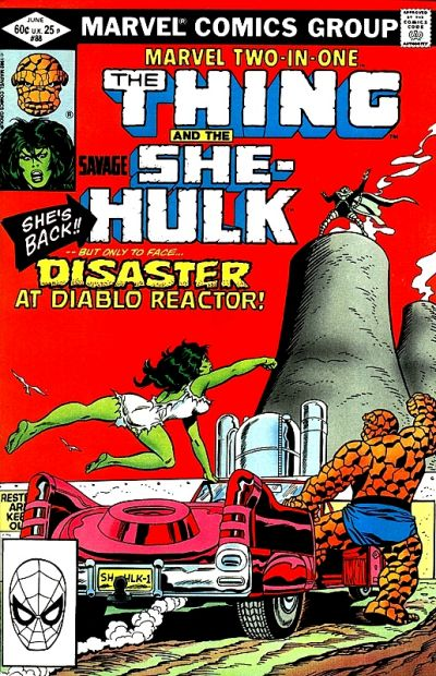 Cover for Marvel Two-in-One (Marvel, 1974 series) #88 [Newsstand]