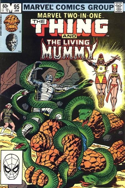 Cover for Marvel Two-in-One (Marvel, 1974 series) #95 [Direct]