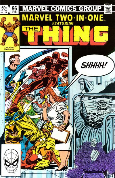 Cover for Marvel Two-in-One (Marvel, 1974 series) #96 [Newsstand]