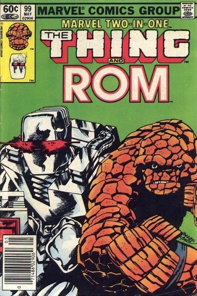Cover for Marvel Two-in-One (Marvel, 1974 series) #99 [Direct]
