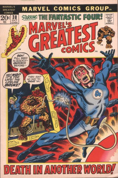Cover for Marvel's Greatest Comics (Marvel, 1969 series) #38