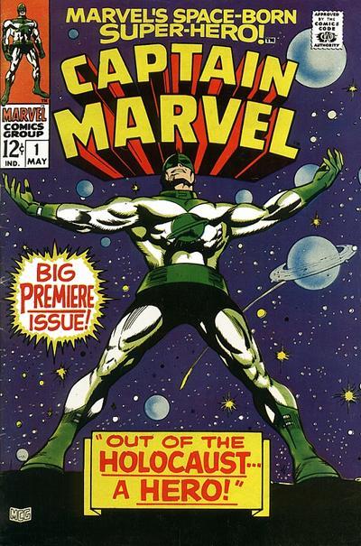 Cover for Marvel's Space-Born Superhero! Captain Marvel (Marvel, 1968 series) #1