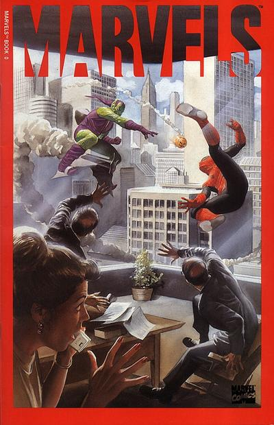 Cover for Marvels (Marvel, 1994 series) #0