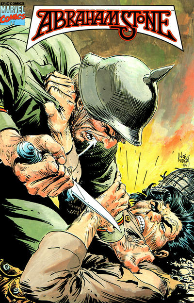Cover for Abraham Stone (Marvel, 1995 series) #1