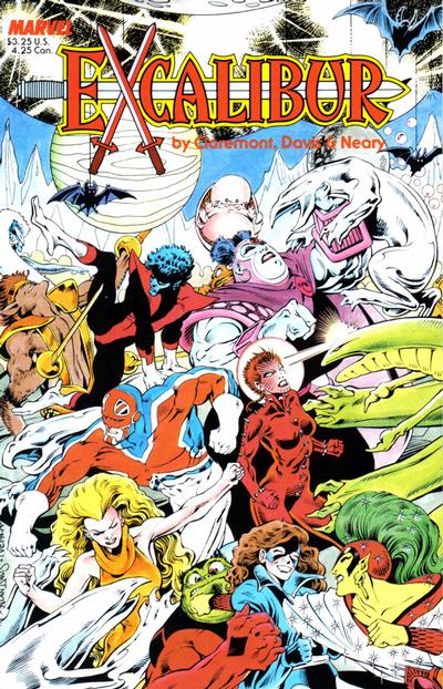 Cover for Excalibur Special Edition (Marvel, 1987 series) #[nn] [Newsstand]