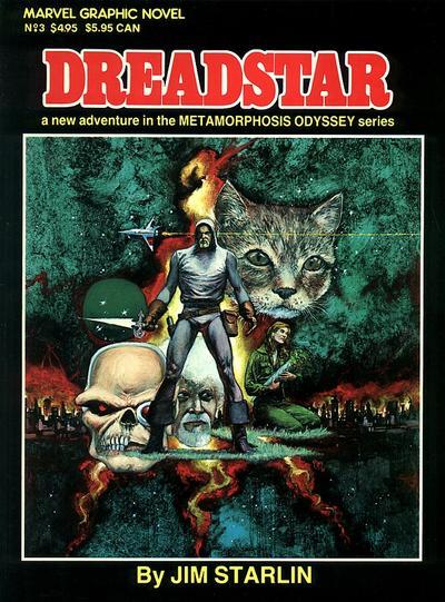 Cover for Marvel Graphic Novel (Marvel, 1982 series) #3 - Dreadstar
