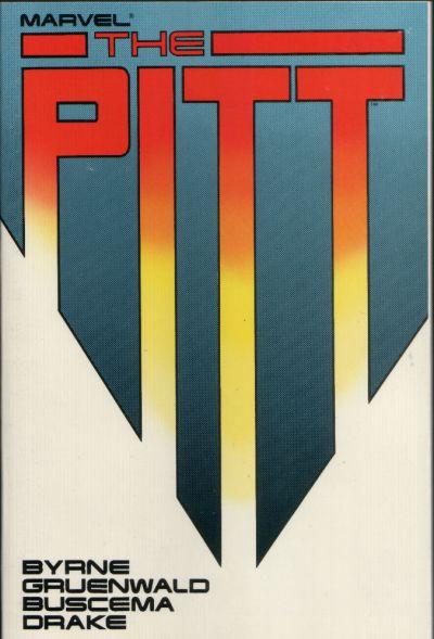 Cover for Marvel Graphic Novel: The Pitt (Marvel, 1987 series)