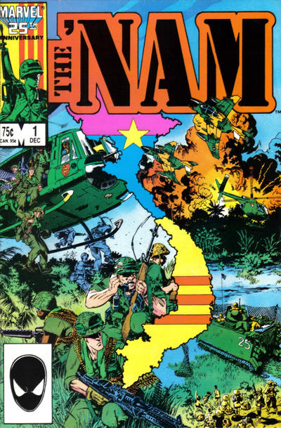 Cover for The 'Nam (Marvel, 1986 series) #1 [Direct Edition]