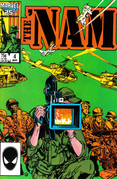 Cover for The 'Nam (Marvel, 1986 series) #4