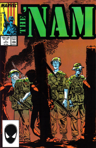 Cover for The 'Nam (Marvel, 1986 series) #5 [Newsstand Edition]