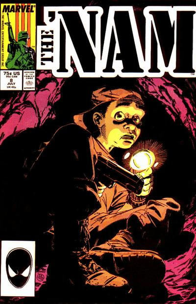 Cover for The 'Nam (Marvel, 1986 series) #8 [Newsstand]