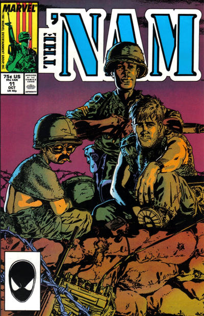 Cover for The 'Nam (Marvel, 1986 series) #11 [Newsstand Edition]