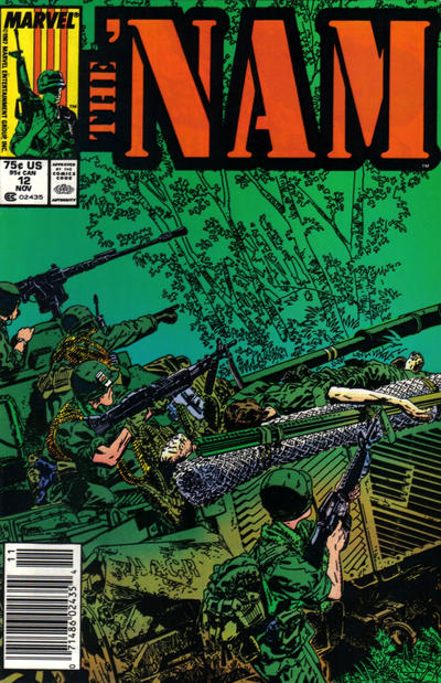 Cover for The 'Nam (Marvel, 1986 series) #12 [Direct Edition]