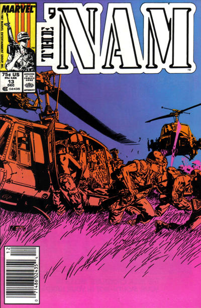 Cover for The 'Nam (Marvel, 1986 series) #13