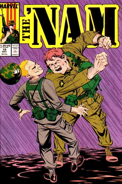 Cover for The 'Nam (Marvel, 1986 series) #18