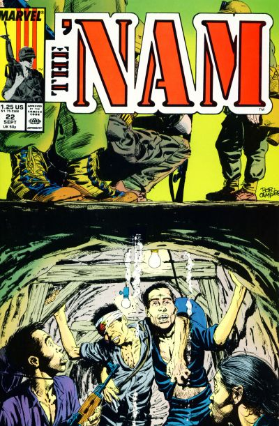 Cover for The 'Nam (Marvel, 1986 series) #22