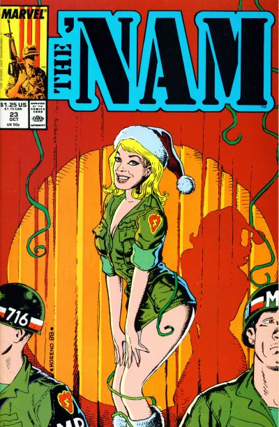 Cover for The 'Nam (Marvel, 1986 series) #23