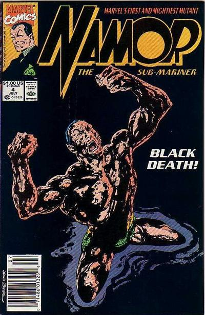 Cover for Namor, the Sub-Mariner (Marvel, 1990 series) #4 [Newsstand]