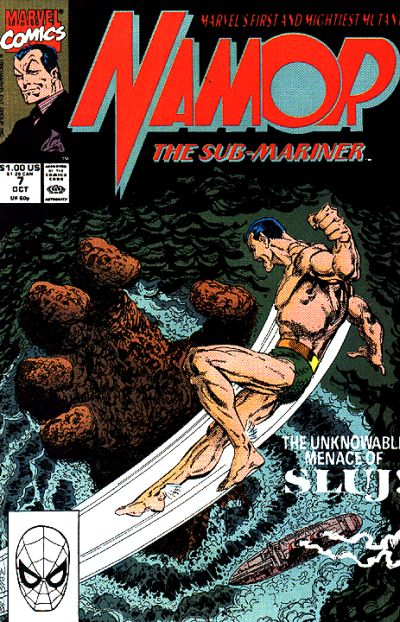 Cover for Namor, the Sub-Mariner (Marvel, 1990 series) #7
