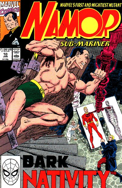 Cover for Namor, the Sub-Mariner (Marvel, 1990 series) #10