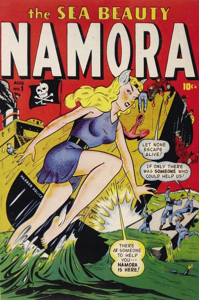 Cover for Namora (Marvel, 1948 series) #1