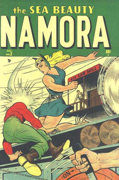 Cover for Namora (Marvel, 1948 series) #3