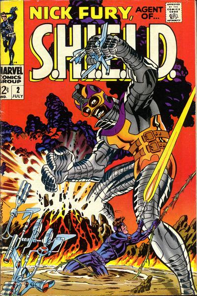 Cover for Nick Fury, Agent of SHIELD (Marvel, 1968 series) #2