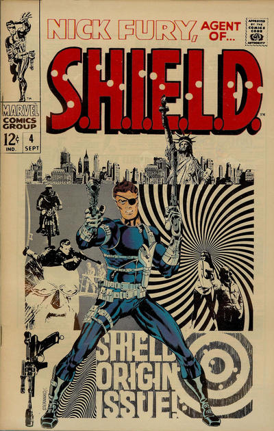 Cover for Nick Fury, Agent of SHIELD (Marvel, 1968 series) #4