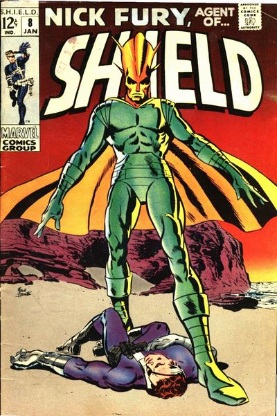 Cover for Nick Fury, Agent of SHIELD (Marvel, 1968 series) #8