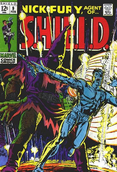 Cover for Nick Fury, Agent of SHIELD (Marvel, 1968 series) #9