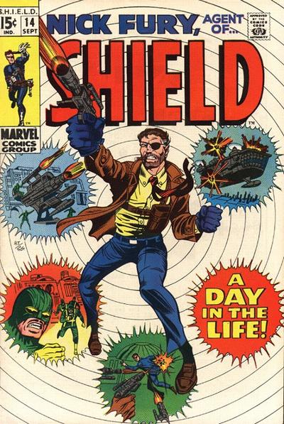 Cover for Nick Fury, Agent of SHIELD (Marvel, 1968 series) #14