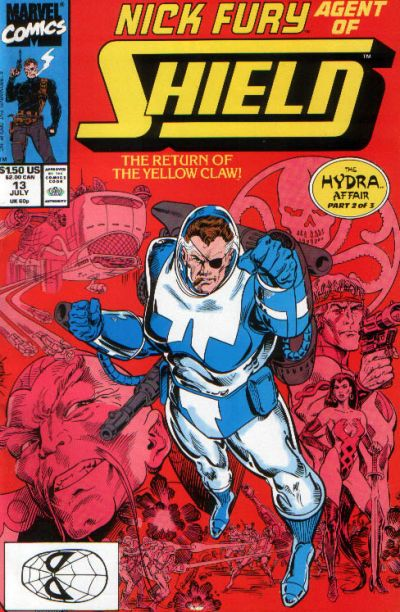 Cover for Nick Fury, Agent of S.H.I.E.L.D. (Marvel, 1989 series) #13