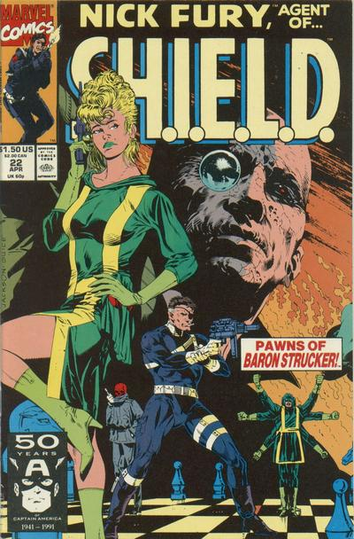 Cover for Nick Fury, Agent of S.H.I.E.L.D. (Marvel, 1989 series) #22