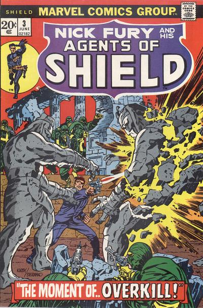 Cover for SHIELD [Nick Fury and His Agents of SHIELD] (Marvel, 1973 series) #3