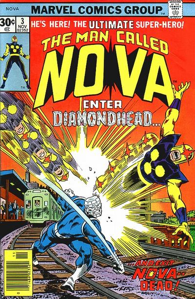 Cover for Nova (Marvel, 1976 series) #3