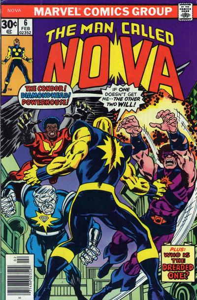 Cover for Nova (Marvel, 1976 series) #6