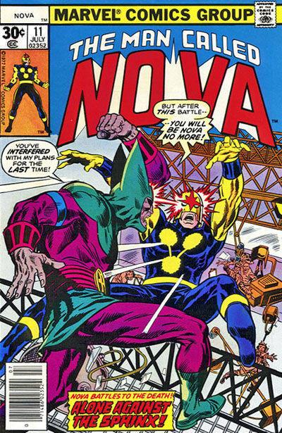 Cover for Nova (Marvel, 1976 series) #11 [30¢ edition]