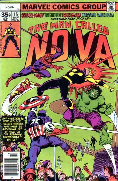 Cover for Nova (Marvel, 1976 series) #15
