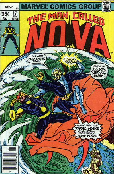 Cover for Nova (Marvel, 1976 series) #17
