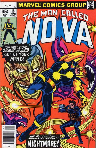 Cover for Nova (Marvel, 1976 series) #18