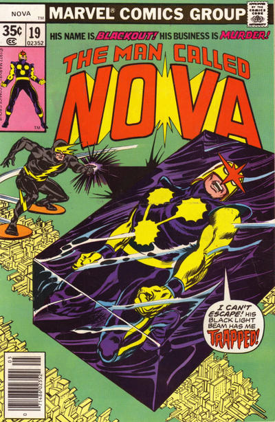 Cover for Nova (Marvel, 1976 series) #19