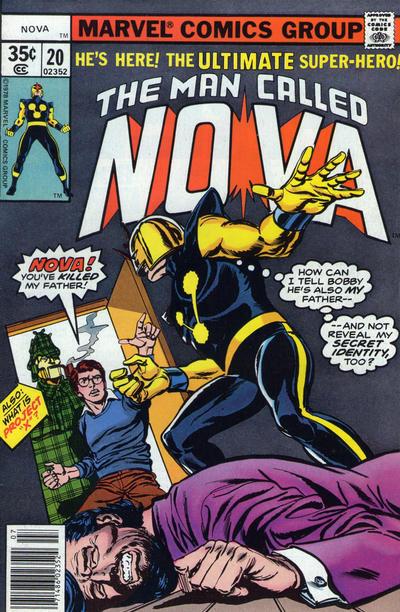 Cover for Nova (Marvel, 1976 series) #20